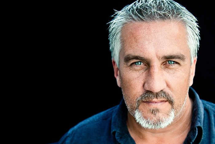 Paul Hollywood is not classically handsome but his eyes. My lord. Im a terrible sucker for light eyes.