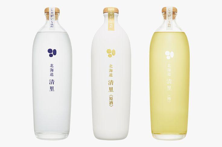 じゃがいも焼酎「北海道 清里」 - Daikoku Design Institute