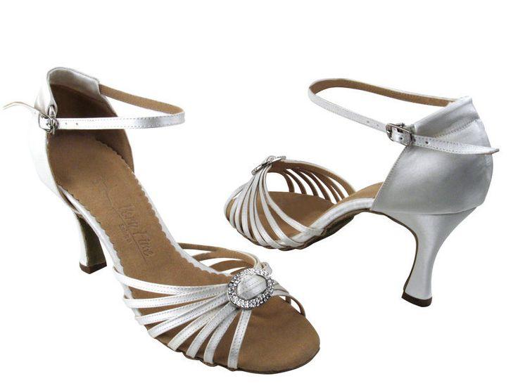 Latin Salsa Very Fine Ballroom Competitive Dance Shoes SERA1671b Ivory Satin   Clothing, Shoes & Accessories, Dancewear, Dance Shoes   eBay!