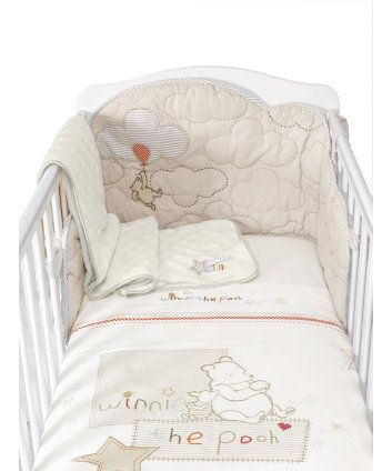 Classic Winnie The Pooh Bed In Bag - bales & sets - Mothercare