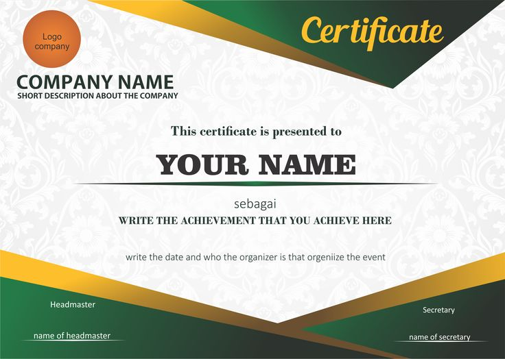 Simple and elegant certificate design Thereu0027s always away to make - Creative Certificate Designs