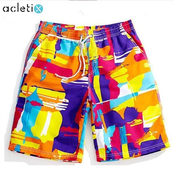 Colorful Swim Surf Shorts #surfingfitness