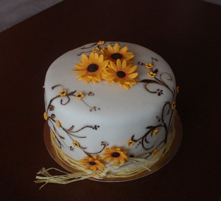 sunflower cake....LOVE it!