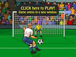 Play online soccer games . All kind of games , from penalty games, Messi games and Cristiano Ronaldo games and free kicks games.