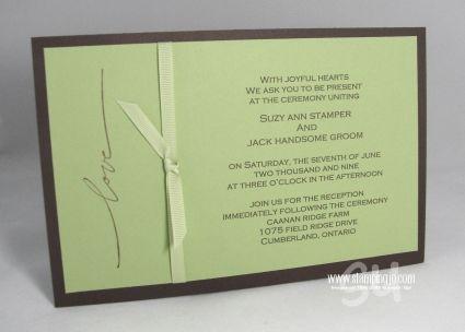 Keli rabon wedding invitations