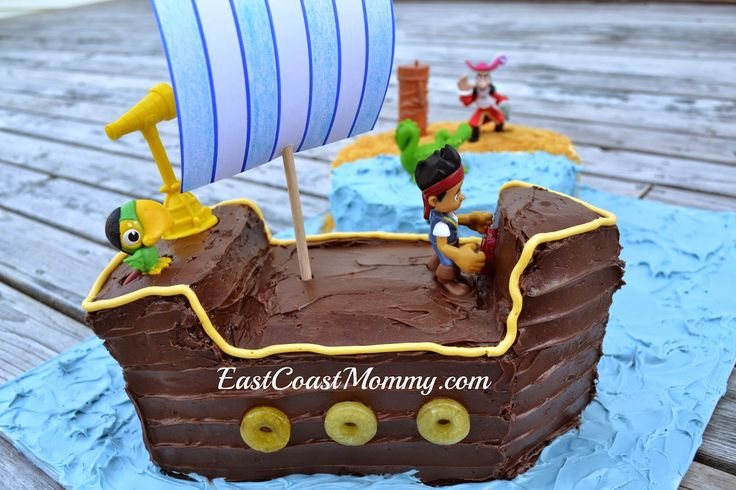 "Easy ""Bucky"" cake. #JakeAndTheNeverlandPirates"