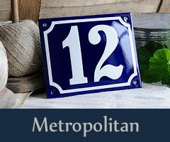 Ramsign produces classic Porcelain Enamel Signs using the original enameling technique which means stenciling each sign by hand.