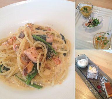pasta lunch / Anello@袋井