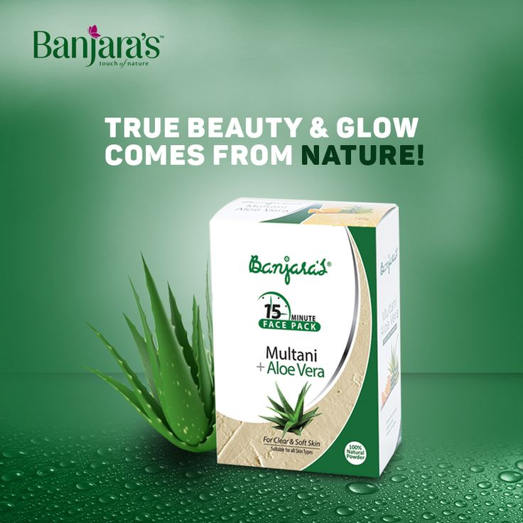 Are you worried of having dull skin? Here is a complete solution for it!   Banjara's Multani with Aloe vera is truly a unique product by its nature which helps in removing impurities from skin without affecting its moisture balance. Equally, Aloe Vera has the qualities of powerful retention & acts as an effective moisturizer for skin.  Sounds good? Why don't you give this product a try and look more gorgeous? :)