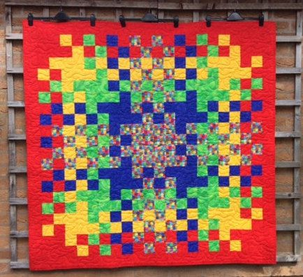 1416 best handmade quilts and gifts images on pinterest patchwork red quiltrainbow quilteaster giftdern quilthome decorhandmade quilt negle Images