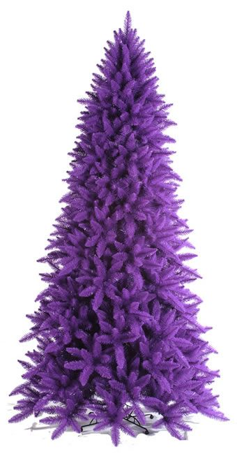 purple tree - if I EVER ran into an opportunity to purchase a purple christmas tree, I know I would so buy it.  I could NOT control myself.  The things that make me happy :)