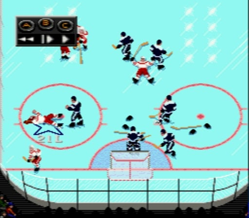 NHL Hockey 93 - Before they took out the fighting