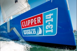 Clipper 70 trials!  Not bad!     #Sailing #Sail #Beast!