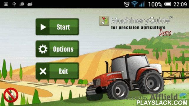 MachineryGuide (Demo) Free  Android App - playslack.com ,  Agricultural guidances (or tractor navigations) are available in a great number on the market. MachineryGuide is one of the first guidance software which was created for Android operating system, this way it has all the advantages which Android applications own.The Full version of this application is able to function as a precision farming application with GNSS antenna provided by us…