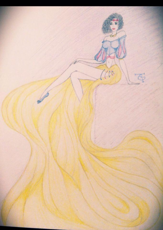 Sexy Snow white (I drew this)