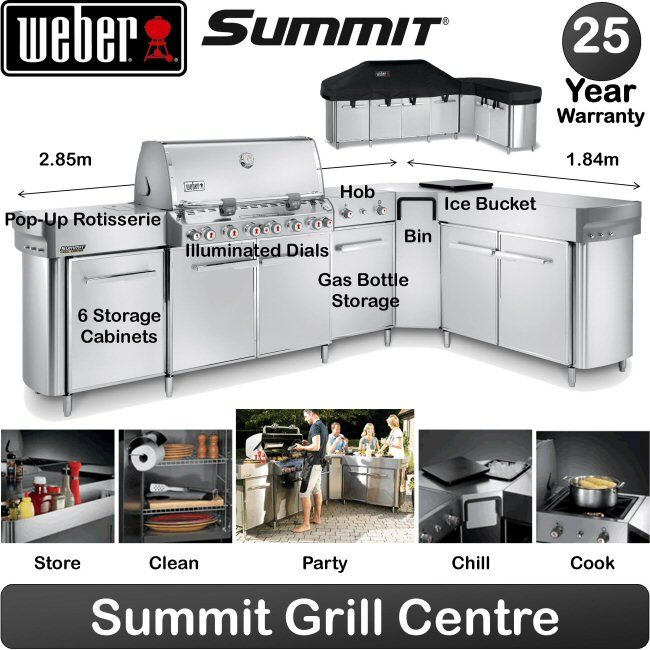 Weber Summit   Grill Centre With Social Area 2014 Model | Birstall
