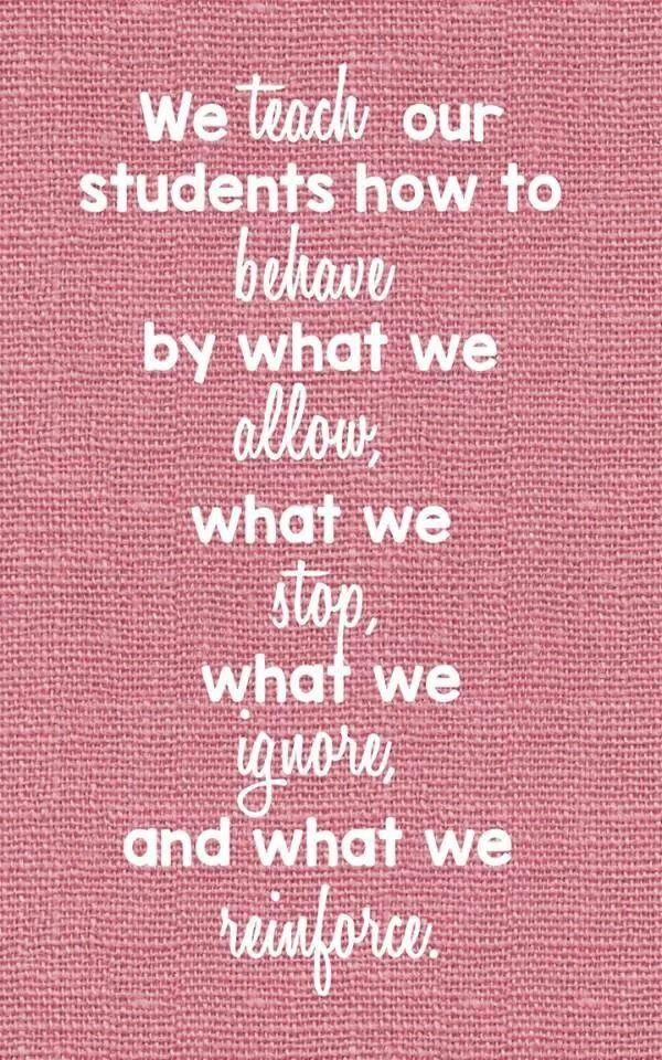 We teach