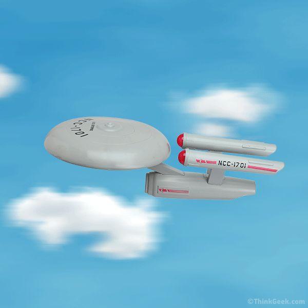 YES PLEASE!!! - Star Trek U.S.S. Enterprise Flying Disc | ThinkGeek