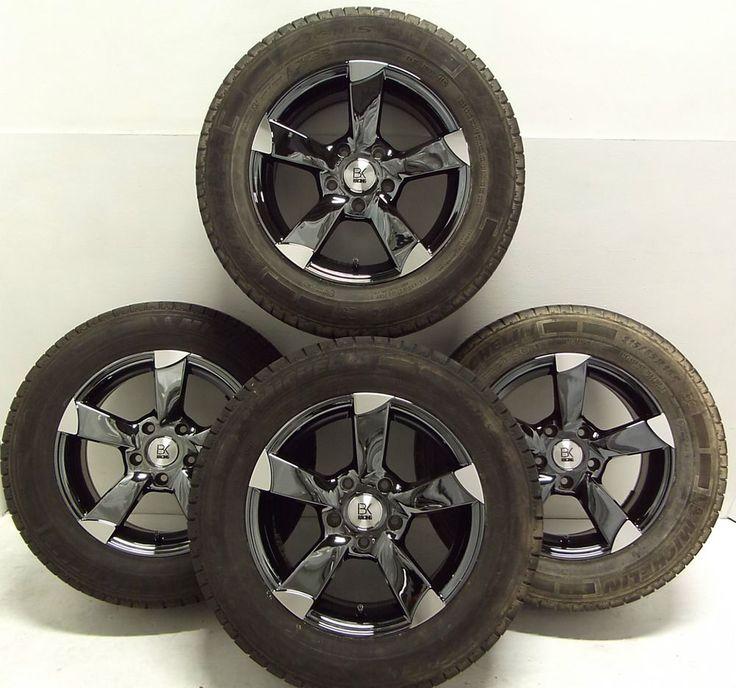 4 215 65 16 815kg Black Alloys 16  VW T5 Van Rated Volkswagen Part Worn Tyres x4 Save On Tyres Exeter 01392 20 30 51