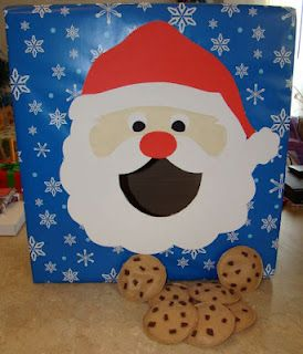 Feed Santa bean bag toss