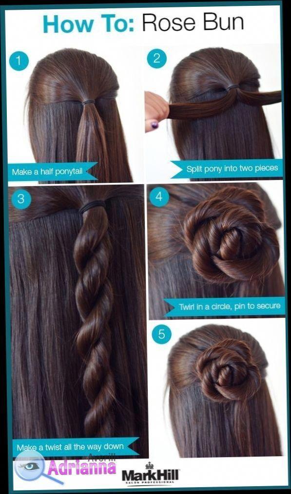 Easy Hairstyles For Medium Length Hair To Do At Home Easy Hairstyles For Medium Length H Hair Styles Medium Length Hair Styles Easy Hairstyles For Long Hair