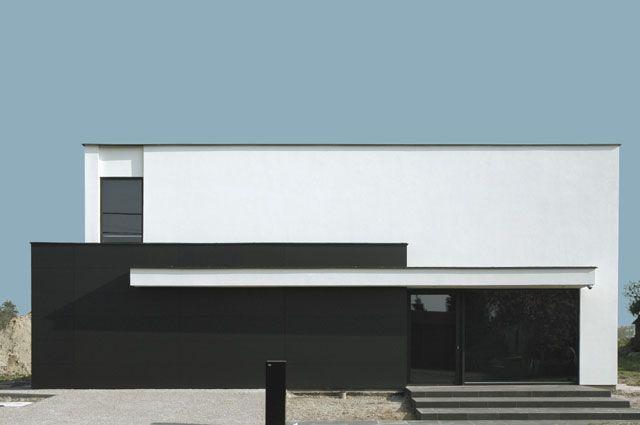 146 besten flachdach haus bilder auf pinterest moderne h user flachdach und moderne architektur. Black Bedroom Furniture Sets. Home Design Ideas