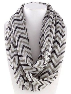 Chevron Infinity Scarves Only $7.95 Shipped! {$26 Value!} Great Christmas gifts!