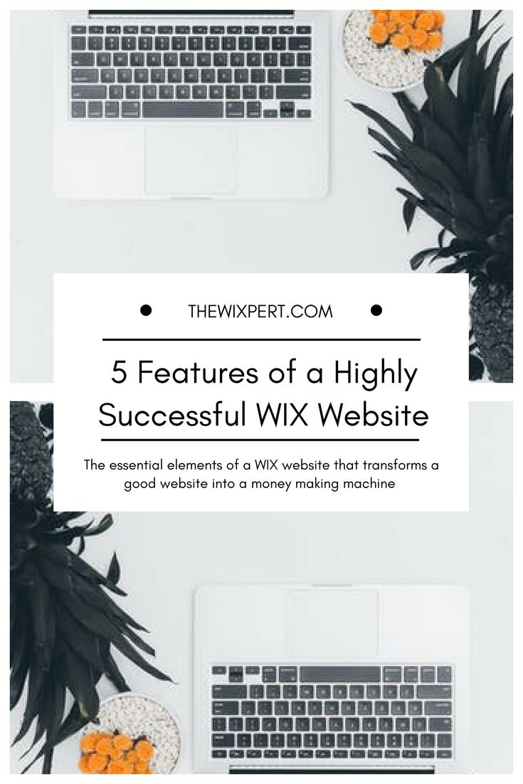 53 best wix images on pinterest design websites site design and 5 features of a highly successful wix website nvjuhfo Gallery
