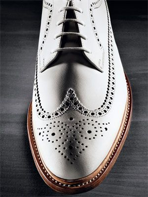 I'd go with something like this for the shoes.. maybe I'd go with a little suede..