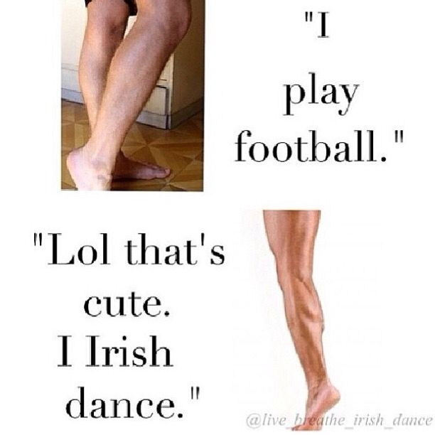 So true!  Even after 10 year hiatus my calves are still so muscular! Back at it now :)