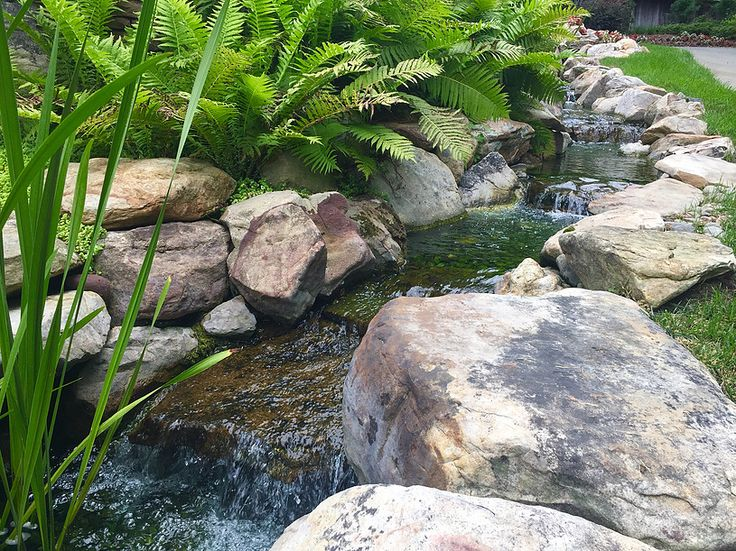 17 best images about pondless water features on pinterest for Landscaping rocks greensboro nc