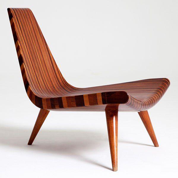 Cadeira Três Pés - Joaquim Tenreiro