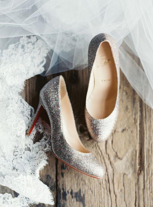 Wedding shoes idea; Featured Photographer: Laura Gordon Photography