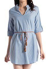 Self Tassel Belt Dress