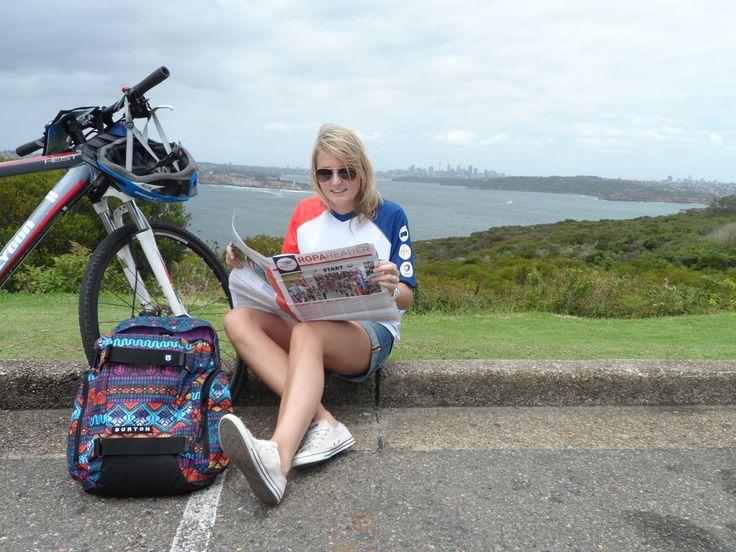 Susanne van der Linden in Sydney