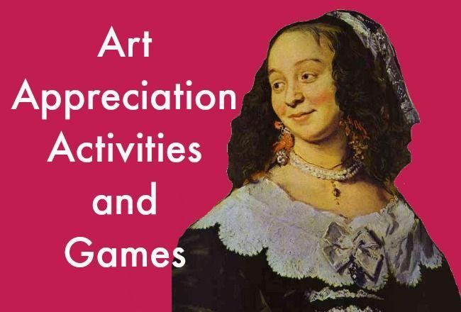 Art Appreciation Activities and Games