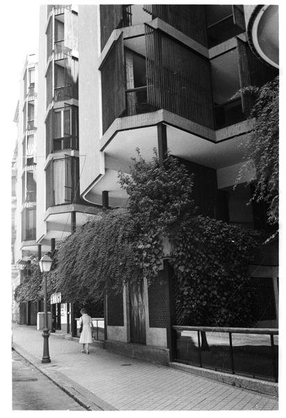 Josè Antonio Coderch, Apartamentos Girasol, Madrid, 1966