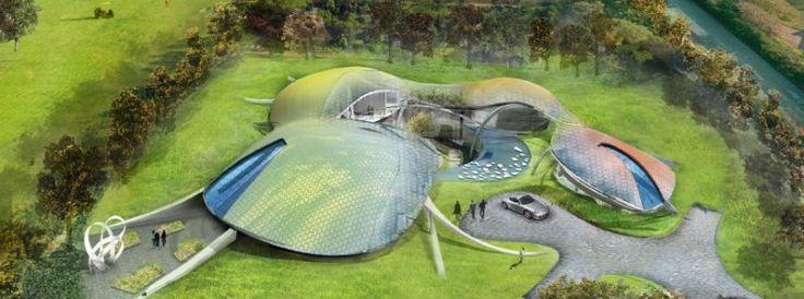Die seltsame Architektur: futuristische Häuser   Wohn-DesignTrend