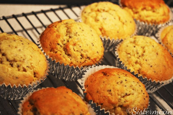 These Lemon and Chia Seed Muffins are totally drool worthy! They are super easy to make and you will be in Heaven in no time at all eating them!!