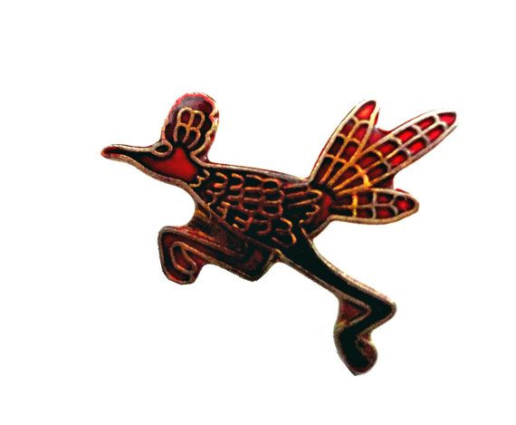 """vintage PLYMoUTH ROAD RUNNeR emblem logo enamel pin lapel car HEMI by VintageTrafficUSA  11.00 USD  Add inspiration to your handbag tie jacket backpack hat or wall. 20 years old hard to find vintage high-quality cloisonne lapel/pin. Beautiful die struck metal pin with colored glass enamel filling. A vintage Road Runner pin used but decent condition. Measures: approx 1"""" or less -------------------------------------------- SECOND ITEM SHIPS FREE IN USA!!! LOW SHIPPING OUTSIDE USA!! VISIT MY…"""
