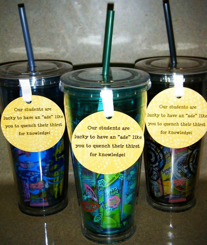 315 best PTA -- Teacher/Volunteer Gifts images on Pinterest | Gift ...