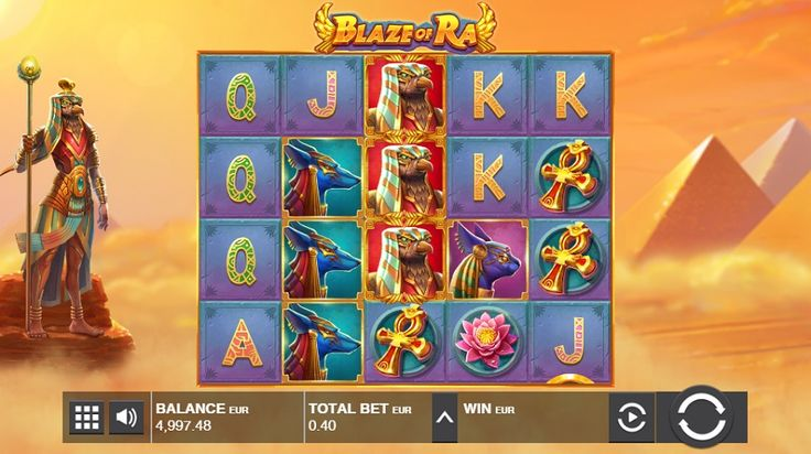 Play the Blaze of Ra video slot and many more of the most popular casino games online. #BlazeofRa #videoslot