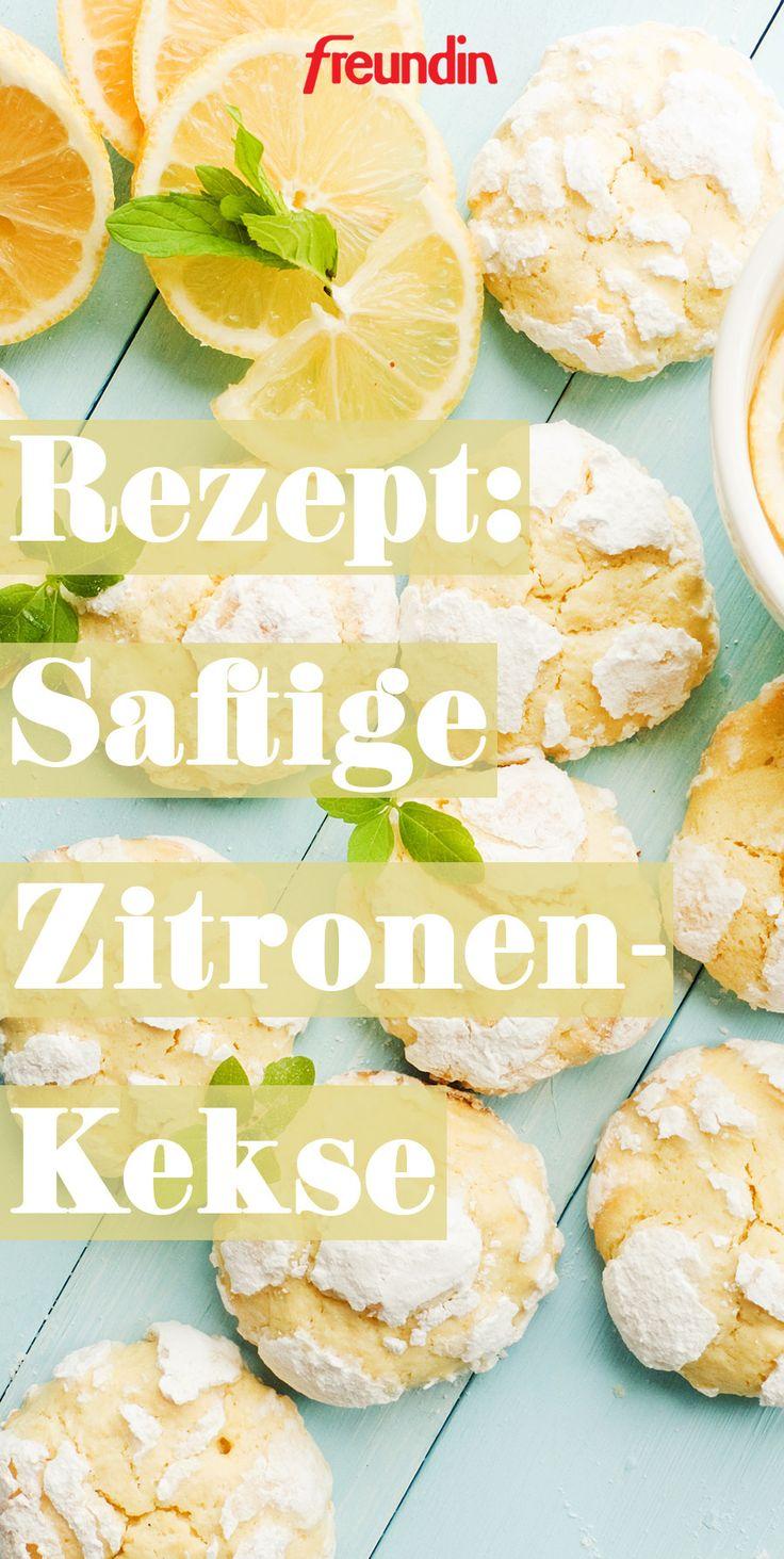 Sommer-Gebäck: Saftige Zitronen-Kekse – Freundin