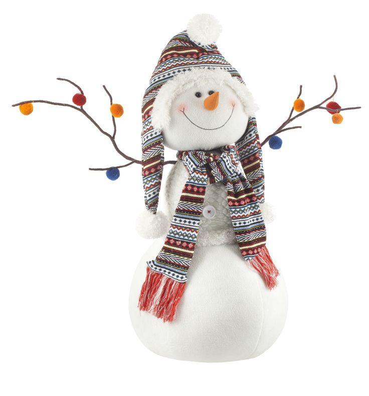 Bonhomme de neige peluche g ante les tr sors de no l pinterest - Pinterest bonhomme de neige ...