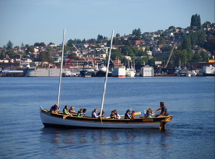 Every Sunday for the past 25 years, volunteer skippers and crew take Seattleites out on the water gratis — on spirit boats, schooners, and even the occasional yacht.