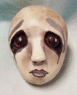 "Patti LaValley Designs: Goulianna, 18"" mixed media Halloween wall doll tutorial"