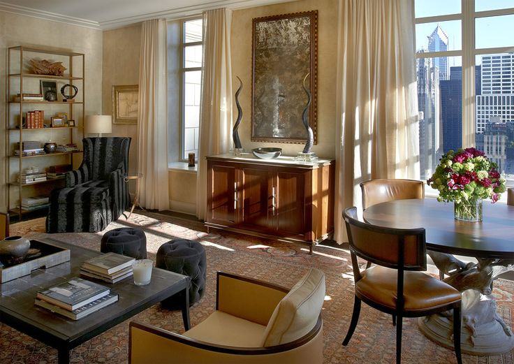 Frank Ponterio Interior Design, Chicago, Illinois (=)