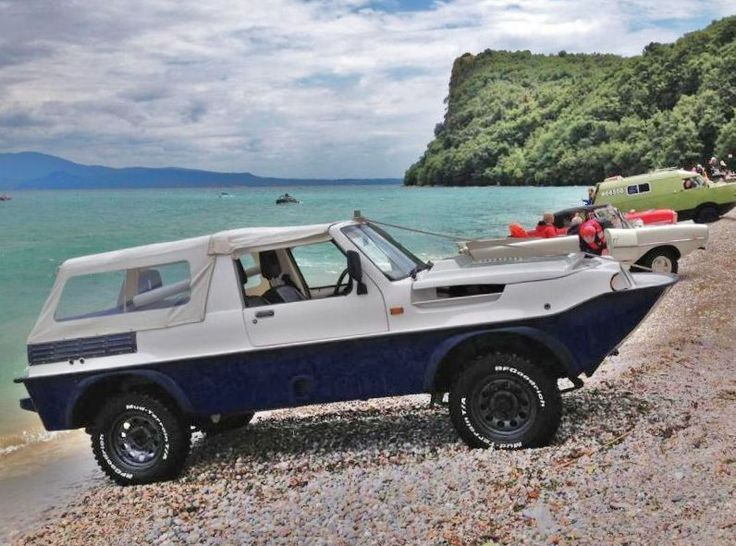 8 of the Coolest Amphibious Cars! The next level of cool is right here...