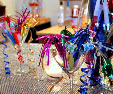 Дом на Новый год: украшения для новогодней вечеринки