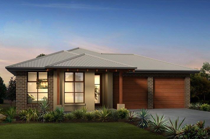 Casas de un piso y tres dormitorios planos y fachadas de for Fachadas pisos modernas